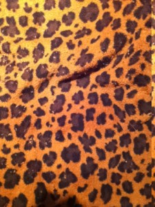 Jaguar Faux Fur
