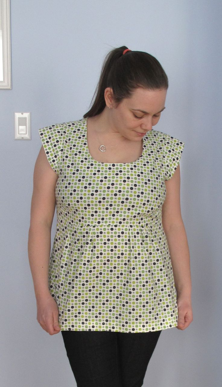 Washi Tunic: Take 1