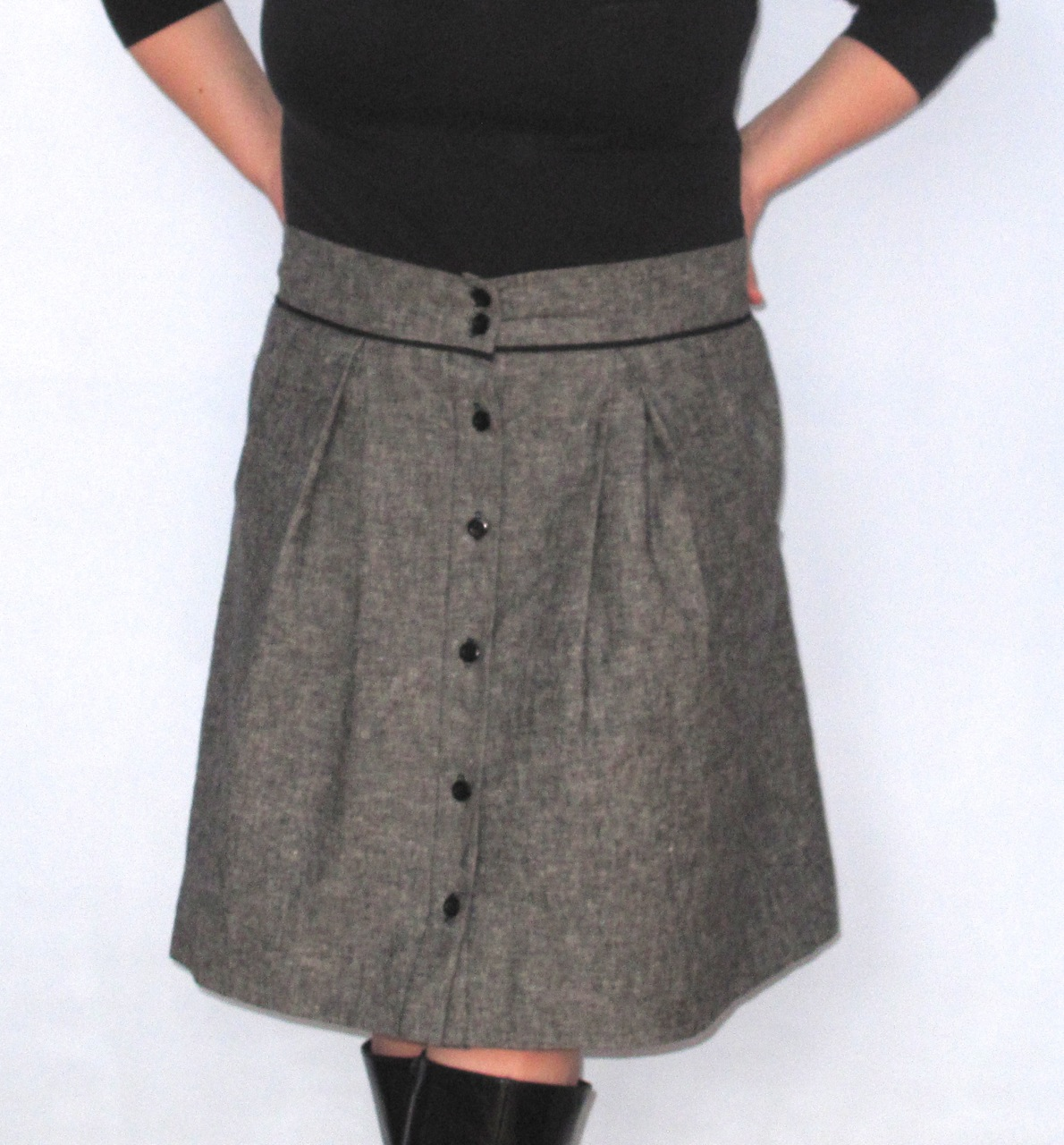 A Linen Kelly Skirt