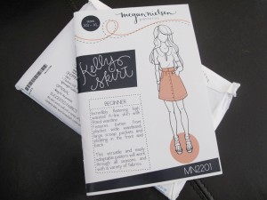 The Kelly skirt by Megan Nielsen