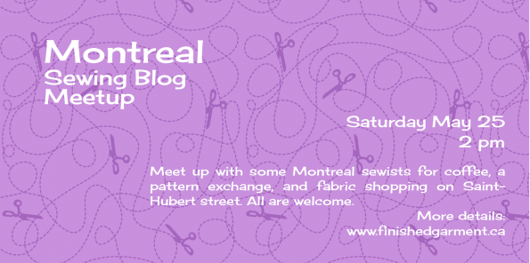 Montreal Sewing Meetup