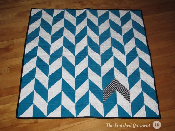 Herringbone Quilt Top