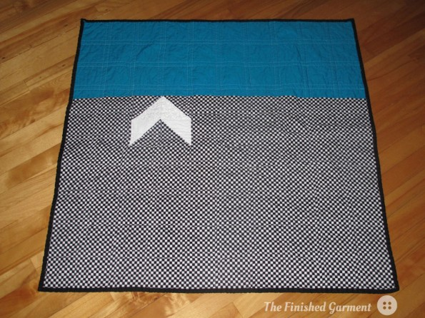 Herringbone Quilt Back