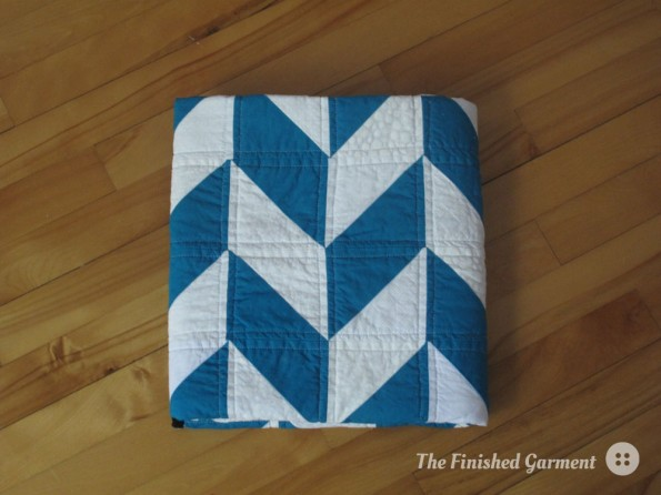 A New Quilt for a New Baby - The Finished Garment : free herringbone quilt pattern - Adamdwight.com