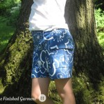 Parsley shorts by The Finished Garment.