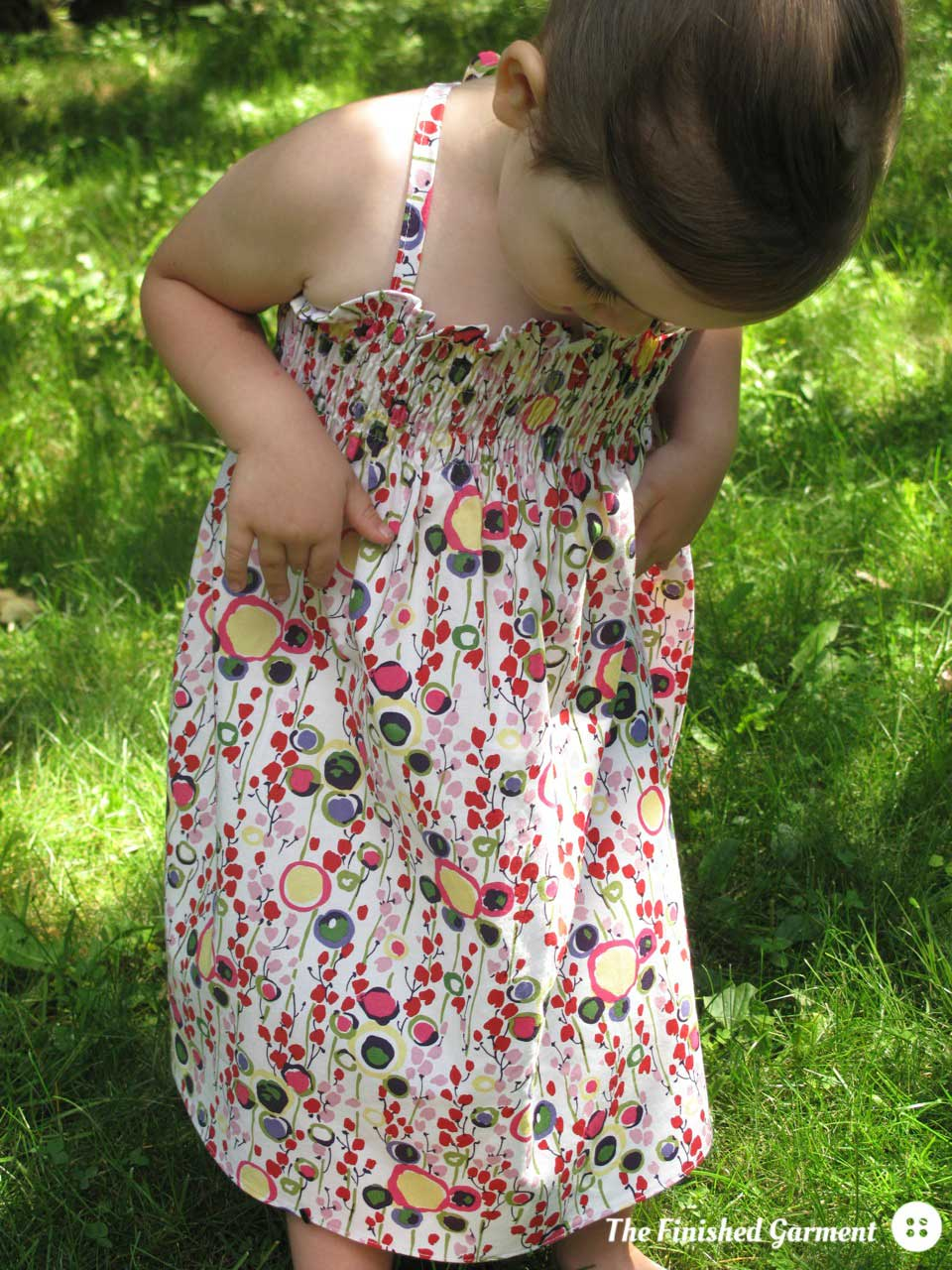 Monkey Bizness Smocked Sundress