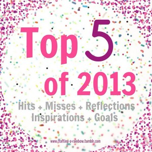 Top 5 of 2013 blog series