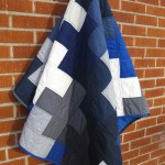 Bue Cross Quilt by Shannon of The Finished Garment