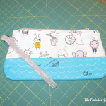 Perfect Zip Bag sewing pattern by Elizabeth Hartman ofOh Fransson!, as sewn by The Finished Garment.