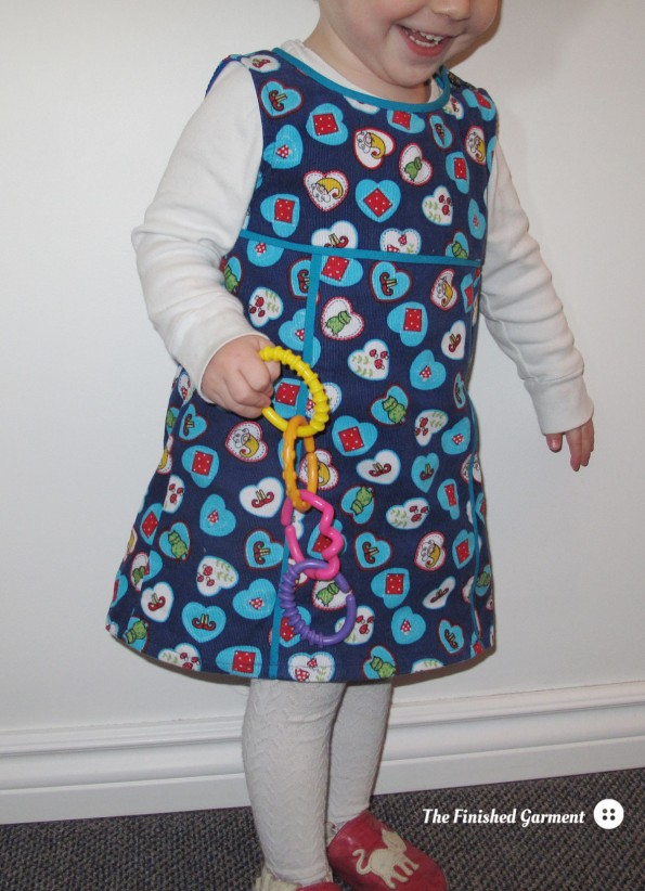 Simplicity 2063 Little Lisette Dress as sewn by The Finished Garment