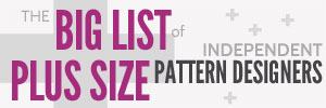 Independent Sewing Patterns for the Plus-Sized Sewist