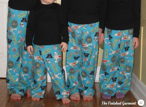 Bedtime Story Pajamas sewing pattern by Oliver + S, as sewn by The Finished Garment